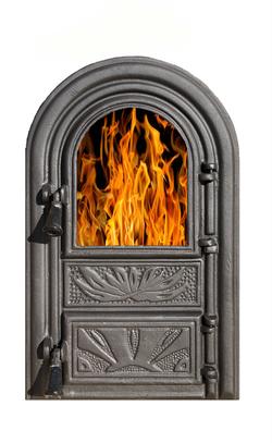 Ușă pentru sobă Fagure