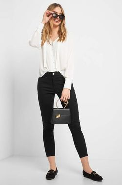 Pantaloni ORSAY Negru 372080 orsay