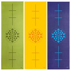 Covoras pentru yoga Leela Collection Yantra green