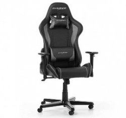 Gaming Chair DXRacer Formula GC-F11-NG, Black/Grey, User max loadt up to 150kg / height 145-185cm