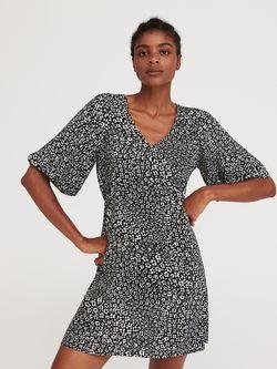 Платье RESERVED Черно-белый