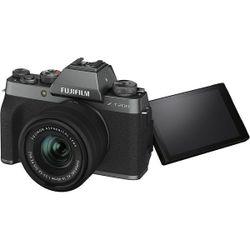 Aparat foto Fujifilm X-T200 Dark Silver XC15-45mm F3.5-5.6 OIS PZ