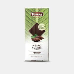 Шоколад темный со стевией без сахара, без глютена 100г