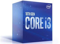 Процессор Intel Core i3-10300, 3,7–4,4 ГГц (4 ядра / 8 потоков, 8 МБ, S1200, 14 нм, встроенная графика UHD Graphics 630, 65 Вт)