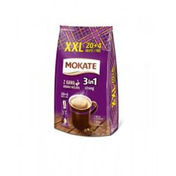 Cafea Mokate 3 in 1 Strong 24*17g tare