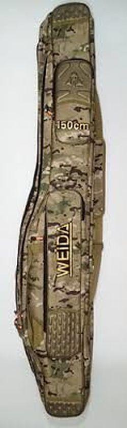 Чехол для удилищ Weida 150см 3 отсека + 2 кармана