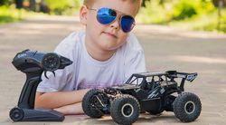 Jucărie teleghidată Sulong Toys  RC Off-Road Crawler-Speed King (SL-153RHMBl)