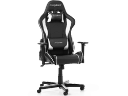 Gaming Chair DXRacer Formula GC-F08-NW, Black/White, User max loadt up to 150kg / height 145-180cm