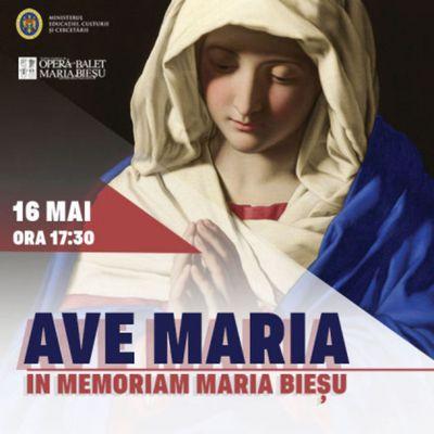 """Ave Maria"" in memoriam Maria Bieșu"