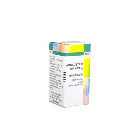 cumpără Aquadetrim Vit D3 15000 UI/ml 10ml pic.orale N1 în Chișinău