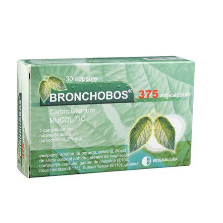 cumpără Bronchobos 375mg caps. N10x3 în Chișinău