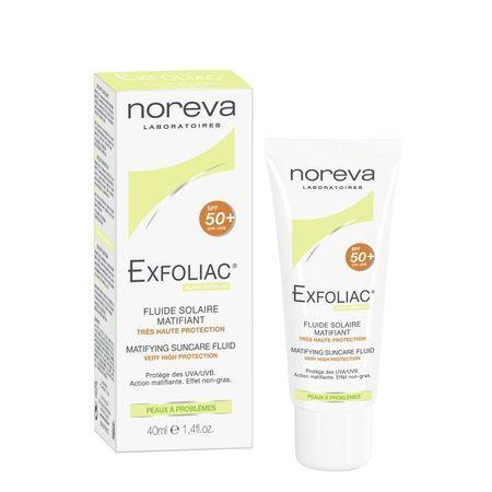 cumpără Noreva EXFOLIAC Cremă SPF 50 (protecția solară pentru ten problematic), 40 ml. în Chișinău