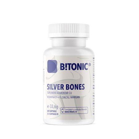 cumpără Bitonic Silver Bones Ca-vit.D-vit.K-Mn.Glucozamin caps N60 în Chișinău