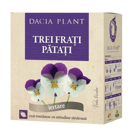 cumpără Ceai Dacia Plant Trei Frați Pătați 50g în Chișinău