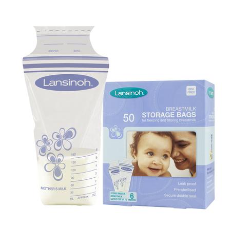 cumpără Lansinoh Pungi p/u colectarea laptelui matern,50buc,0+ (40055) în Chișinău