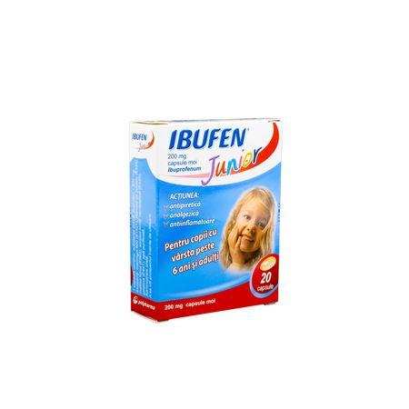 cumpără Ibufen Junior 200mg caps. moi N10x2 OTC în Chișinău