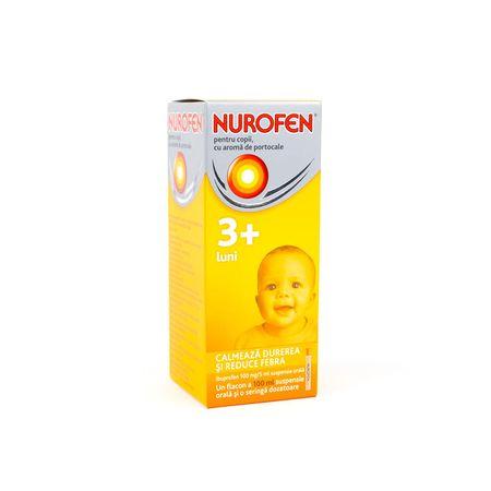 cumpără Nurofen p/u copii 100mg/5ml 100ml sirop N1 OTC în Chișinău