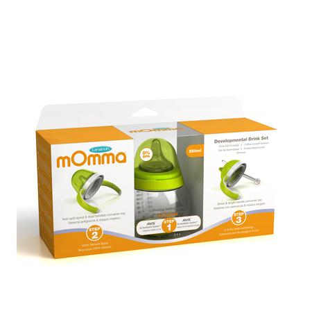 cumpără Lansinoh-mOmma Set de băut 3in1, orange, 6+ (75340) în Chișinău