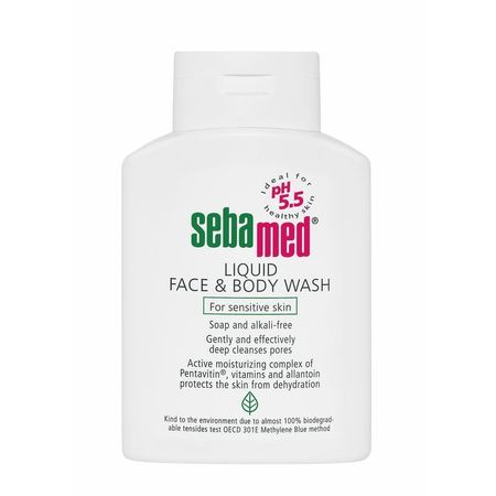 cumpără Sebamed Lichid pentru spălarea feței și corpului pentru piele sensibilă 300ml în Chișinău