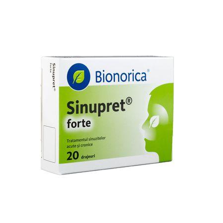 cumpără Sinupret Forte draj N20 OTC în Chișinău