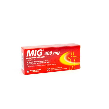 cumpără Mig 400mg comp. N10x2 în Chișinău