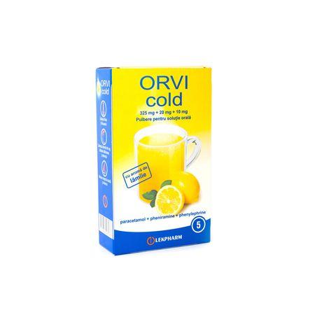 cumpără ORVI cold 325mg+20mg+10mg pulb.sol. orala 10g N5 (Lamie) în Chișinău