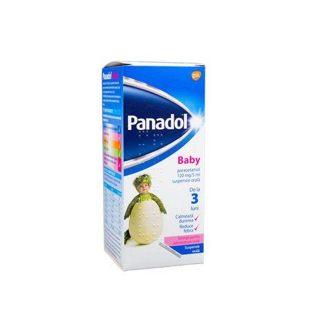 cumpără Panadol Baby 120mg/5ml 100ml susp.orala N1 OTC în Chișinău