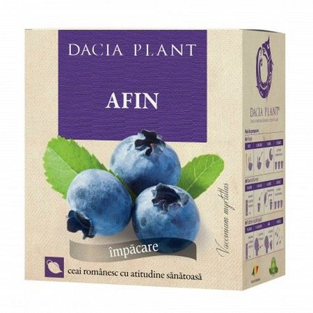 cumpără Ceai Dacia Plant Afin frunze 50g în Chișinău