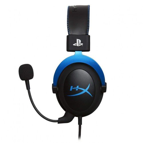 cumpără KINGSTON HyperX Cloud PS4 Headset, Black/Blue, Official PS4 licensed headset, Solid aluminium build, Microphone: detachable, Frequency response: 15Hz–25,000 Hz, Cable length:1m+2m extension, 3.5 jack, Pure Hi-Fi capable, Braided cable în Chișinău