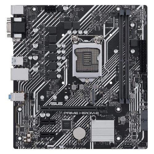 купить Материнская плата ASUS PRIME H510M-E Intel H510, LGA1200, Dual DDR4 3200MHz, PCI-E 4.0/3.0 x16, D-Sub/Display Port 1.4/HDMI 2.0, USB3.2, SATA 6 Gbps, M.2 x4 Socket, SB 8-Ch., GigabitLAN, LED lighting в Кишинёве