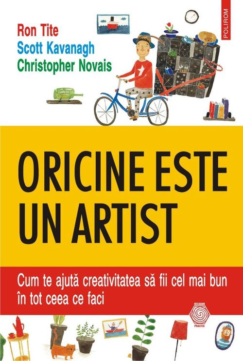 купить Oricine este un artist. Cum te ajută creativitatea să fii cel mai bun în tot ceea ce faci в Кишинёве