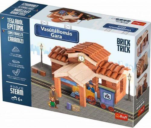 купить Игрушка Trefl 60970 Brick Trick - Rail station XL в Кишинёве