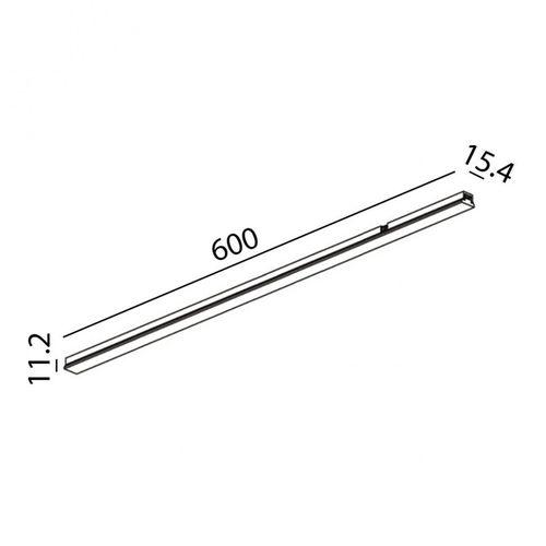 купить Светильник линейный MINI_LINE42 LINEA 600 07.6000.12.930.BK в Кишинёве