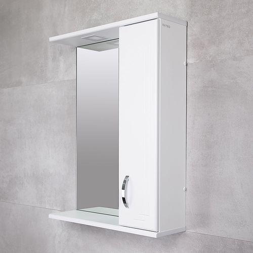 купить Verso Шкаф-зеркало белое хром 600 R в Кишинёве