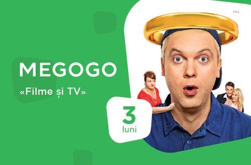 cumpără Conectare la TV digitală MEGOGO Кино и ТВ на 3 месяц în Chișinău