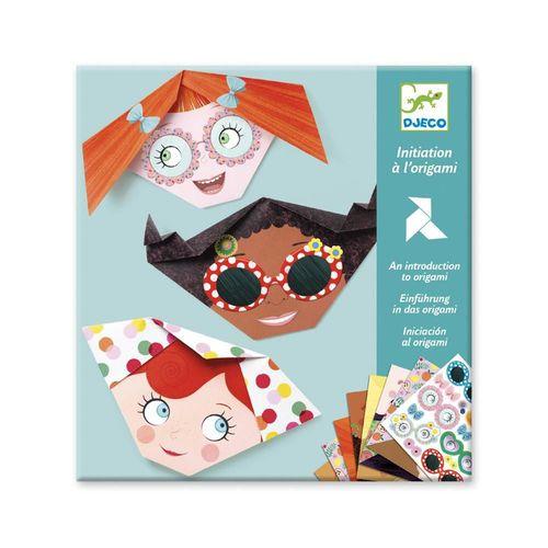 """купить Оригами с наклейками """"Милые личики"""" в Кишинёве"""