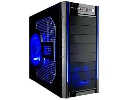 купить Transparent BLUE Sidepanel, Big window with Fan & Filter (panel lateral pentru carcasa/панель боковая для корпуса) в Кишинёве