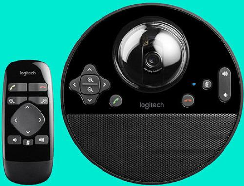купить Logitech BCC950 ConferenceCam, Webcam Full HD 1080p 30fps video, Motorized pan, tilt and zoom, Speakerphone 220 Hz - 20 kHz, Remote for groups of 1-4, 960-000867 в Кишинёве