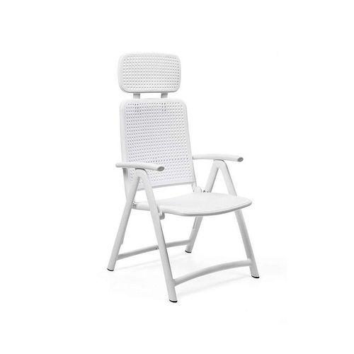 купить Кресло складное Nardi ACQUAMARINA BIANCO 40314.00.000 (Кресло складное для сада и террасы) в Кишинёве