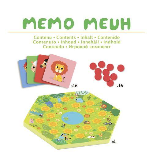 """купить Настольная игра """"Мемо Мяу"""", DJECO в Кишинёве"""