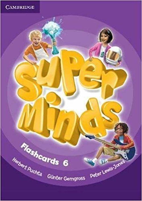 купить Super Minds Level 6 Flashcards в Кишинёве