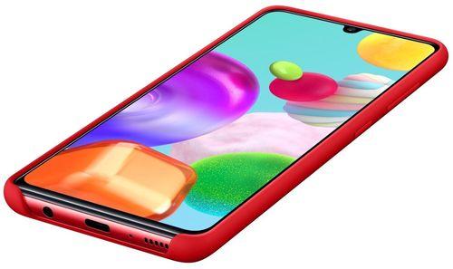 купить Чехол для моб.устройства Samsung EF-PA415 Silicone Cover Red в Кишинёве