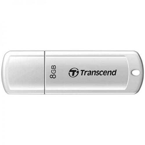 cumpără Transcend JetFlash 370 8GB Glossy White (Read 18mb/s; Write 10mb/s) în Chișinău