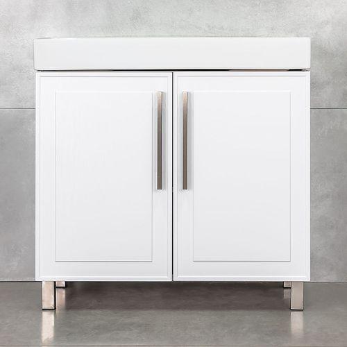 купить Шкаф Porto белый структурный дуо про под умывальник Stance 850 в Кишинёве