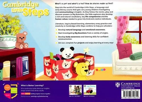 купить Cambridge Little Steps 1 Student's Book Level 1 в Кишинёве