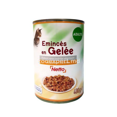купить Netto паштет с курицей и индейкой в соусе 400 gr в Кишинёве