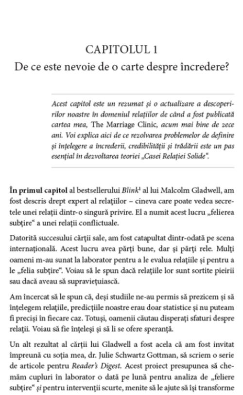 cumpără Știița încrederii. Acordul emoțional în cuplu - Dr. John Gottman în Chișinău