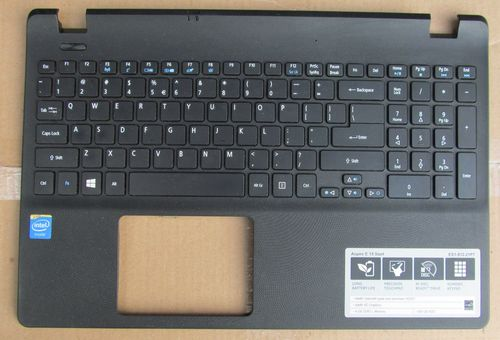 купить Keyboard Acer Aspire ES1-512 Extensa 2508 w/cover ENG/RU Black в Кишинёве