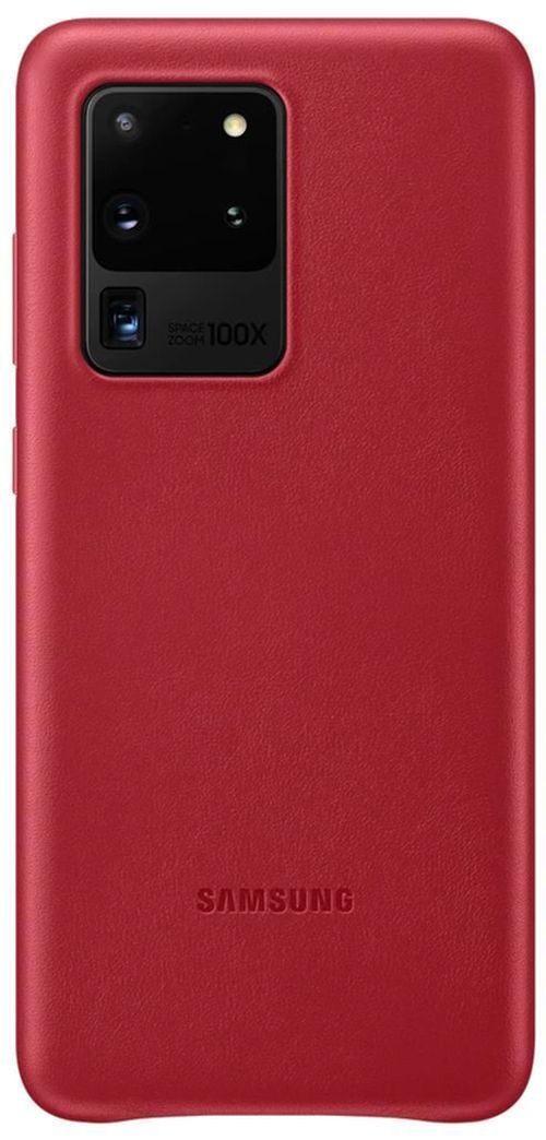 купить Чехол для моб.устройства Samsung EF-VG988 Leather Cover Red в Кишинёве