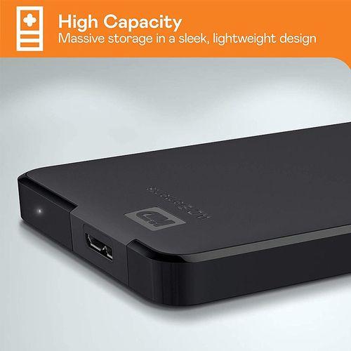 "купить 2.5"" 5TB External HDD WD Elements Portable WDBU6Y0050BBK-WESN, Black, USB 3.0, (hard disk extern HDD/внешний жесткий диск HDD) в Кишинёве"